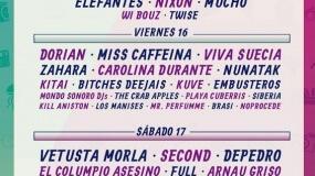 Horarios del Cooltural Fest 2019