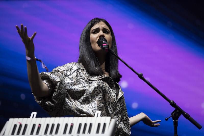 Javiera Mena - H&M Future Beats Festival
