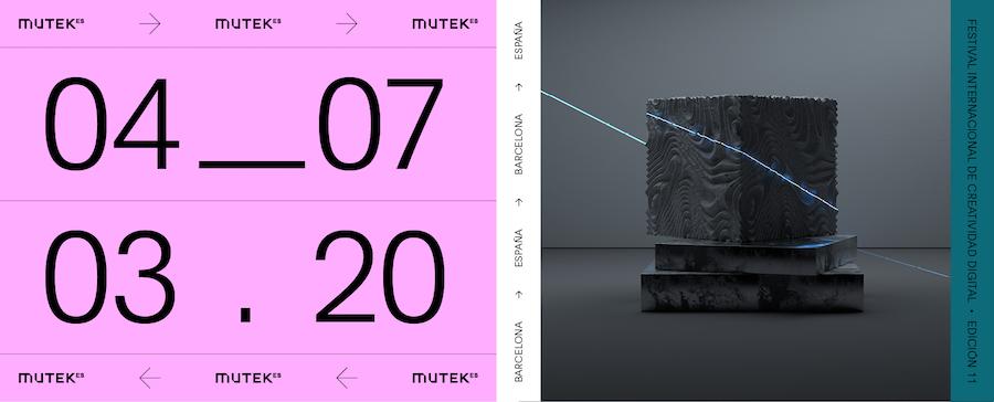 MUTEK 2020 Barcelona
