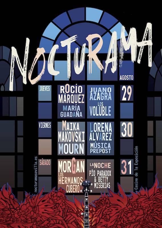 Nocturama 2019 - Ciclo conciertos Sevilla