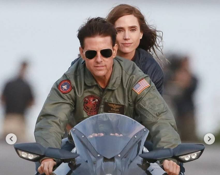 Top Gun: Maverick - Tom Cruise y Jennifer Connelly