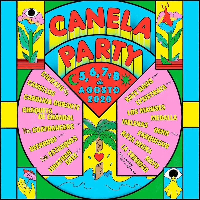 CARTEL CANELAPARTY 2020