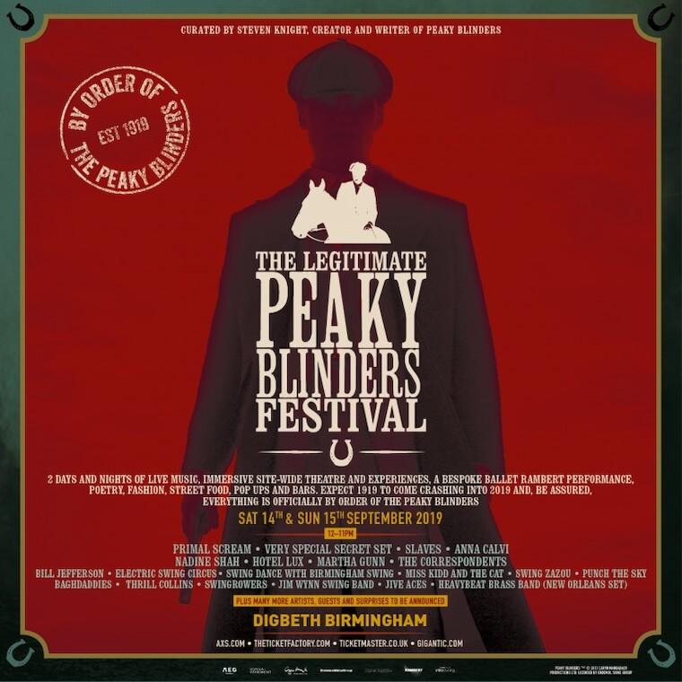 The Legitimate Peaky Blinders Festival