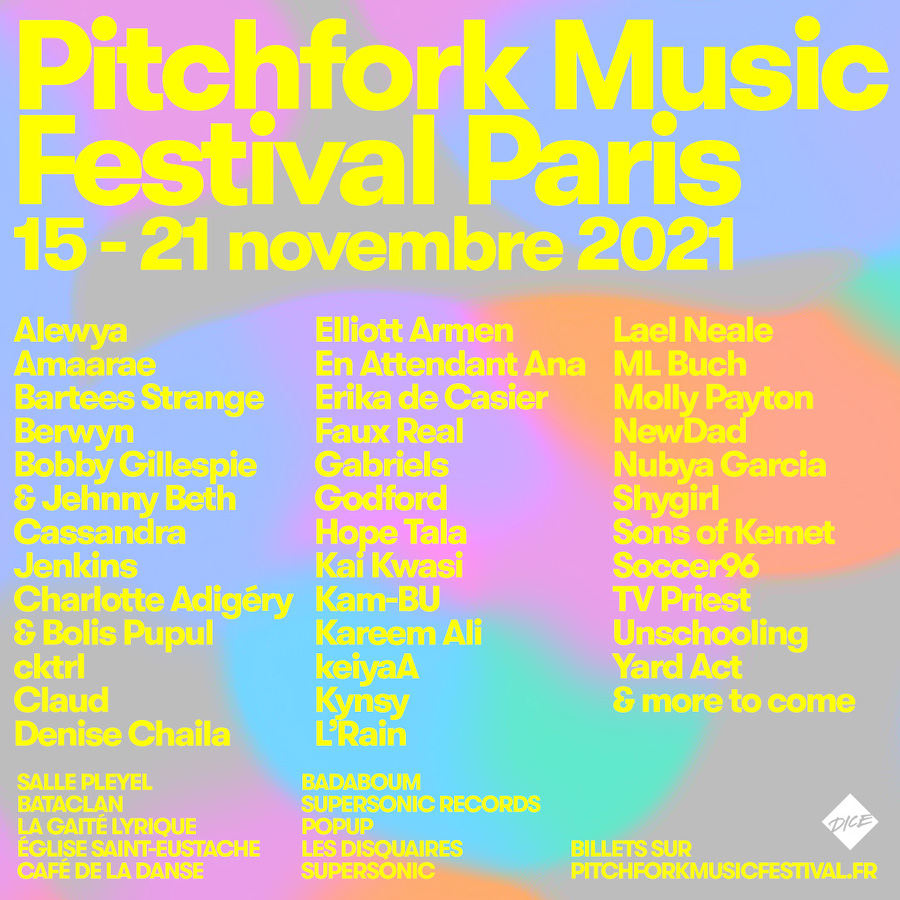 Pitchfork Music Festival París 2021