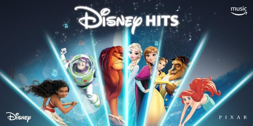 Banda Sonoras de Disney en Amazon Music