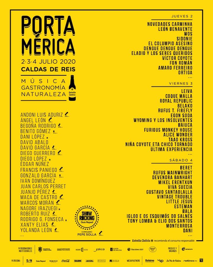 Cartel PortAmerica 2020