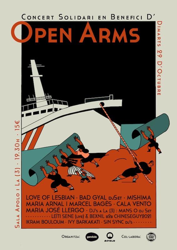 Concierto solidario en beneficio de Open Arms