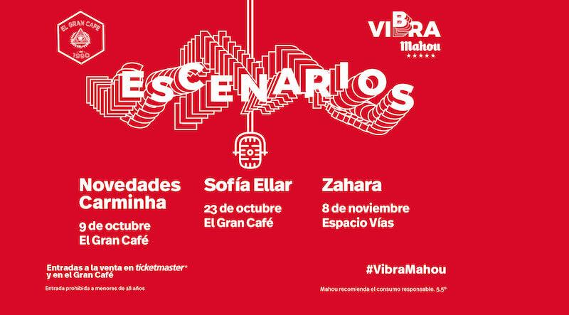 Escenarios Vibra Mahou llega a León