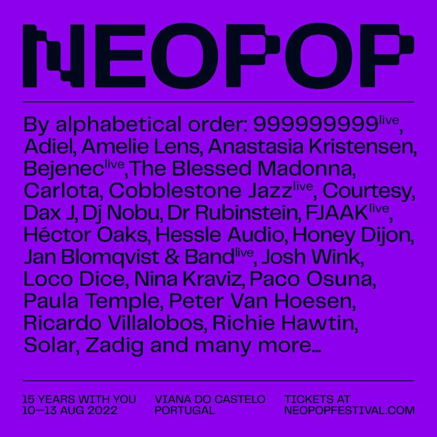 NEOPOP Festival 2022