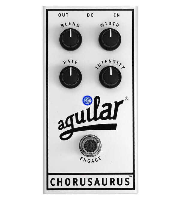 Aguilar Chorusaurus - Pedal de efectos para bajo