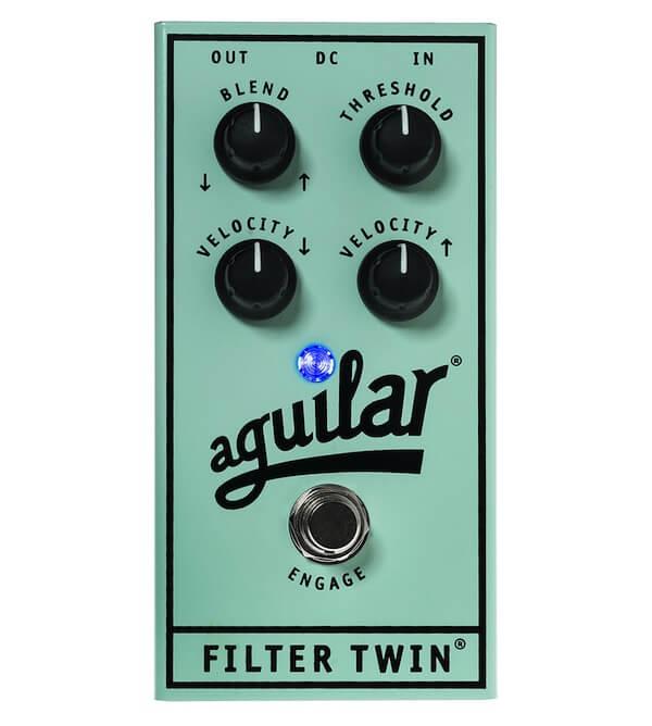 Aguilar Filter Twin - Pedal de efectos para bajo