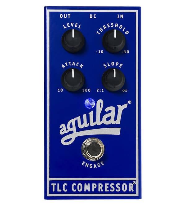 Aguilar TLC Compressor - Pedal de efectos para bajo