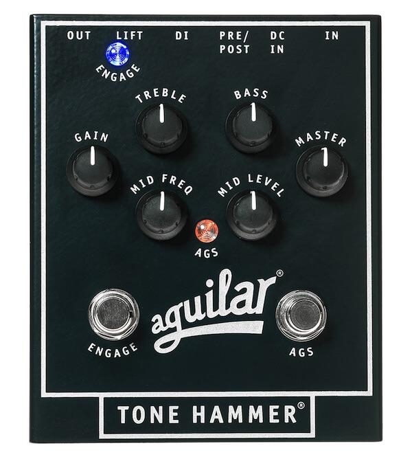 Aguilar Tone Hammer - Pedal de efectos para bajo