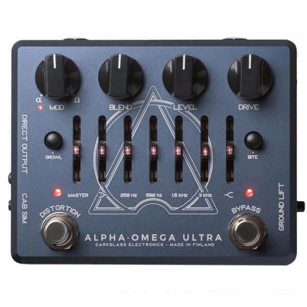Darkglass Alpha Omega Ultra - edal de efectos para bajo