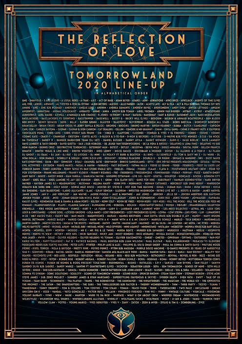 Cartel Tomorrowland 2020