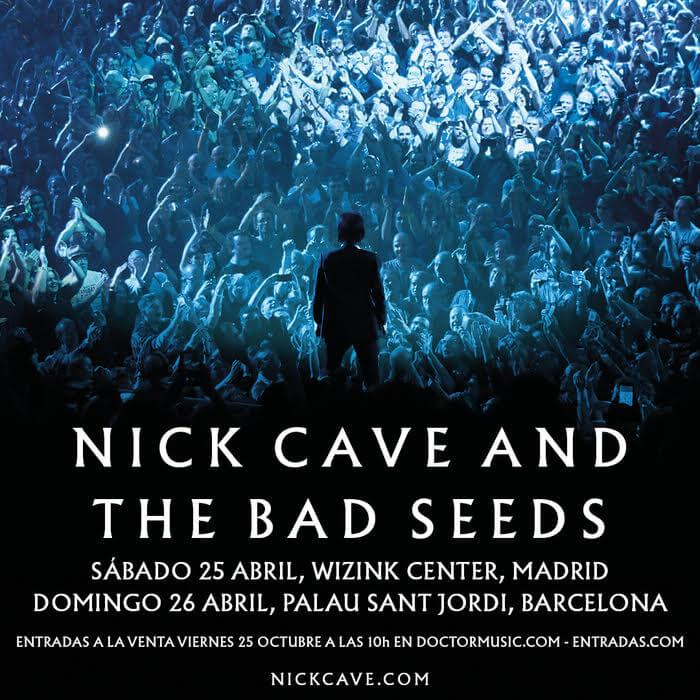 Precios de entradas de Nick Cave & The Bad Seeds - Madrid y Barcelona