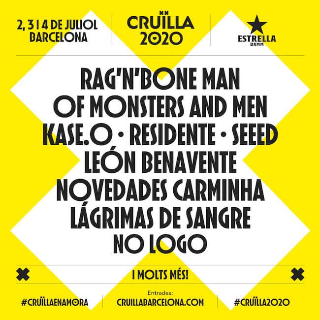 Cruilla Festival 2020