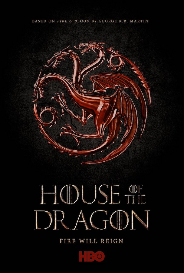 House of the Dragon de HBO - Póster oficial