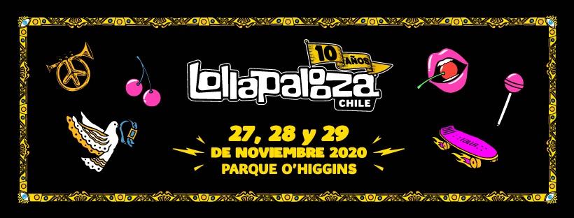 Lollapalooza Chile 2020 - Nuevas fechas