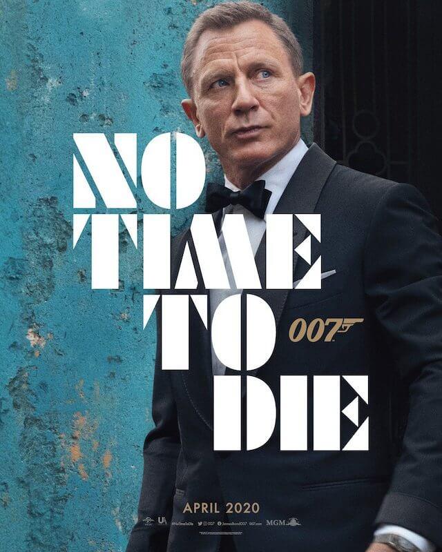 Póster de James Bond: Sin tiempo para morir