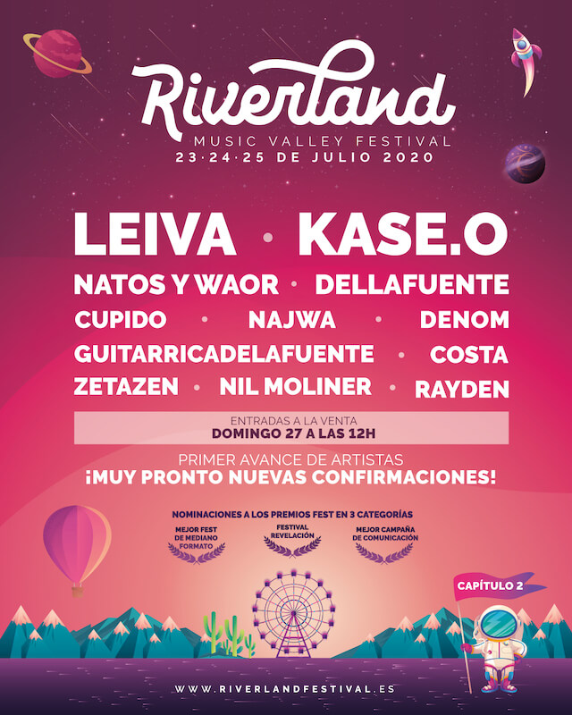 Riverland Festival 2020 - Cartel