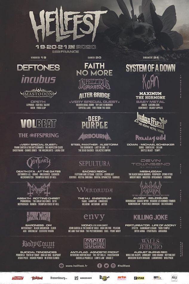 Cartel del Hellfest 2020