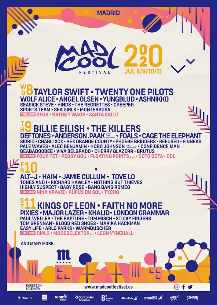 Cartel Mad Cool 2020