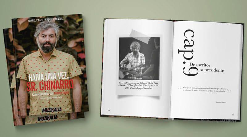 Libro Sr. Chinarro (Conversaciones con Antonio Luque)