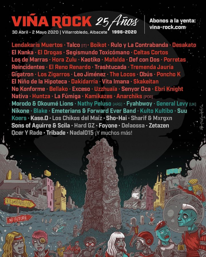 Cartel Viña Rock 2020
