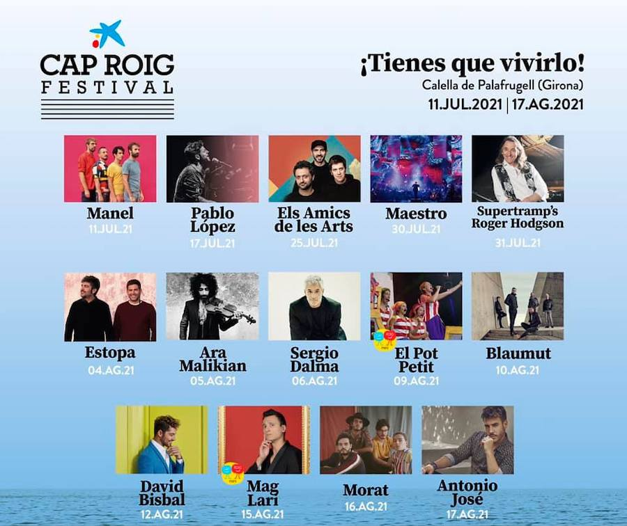 Cap Roig Festival 2021