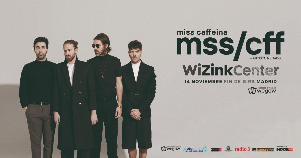 Concierto de Miss Caffeina en Madrid 2020 - Fin de Gira 'Oh Long Johnson'
