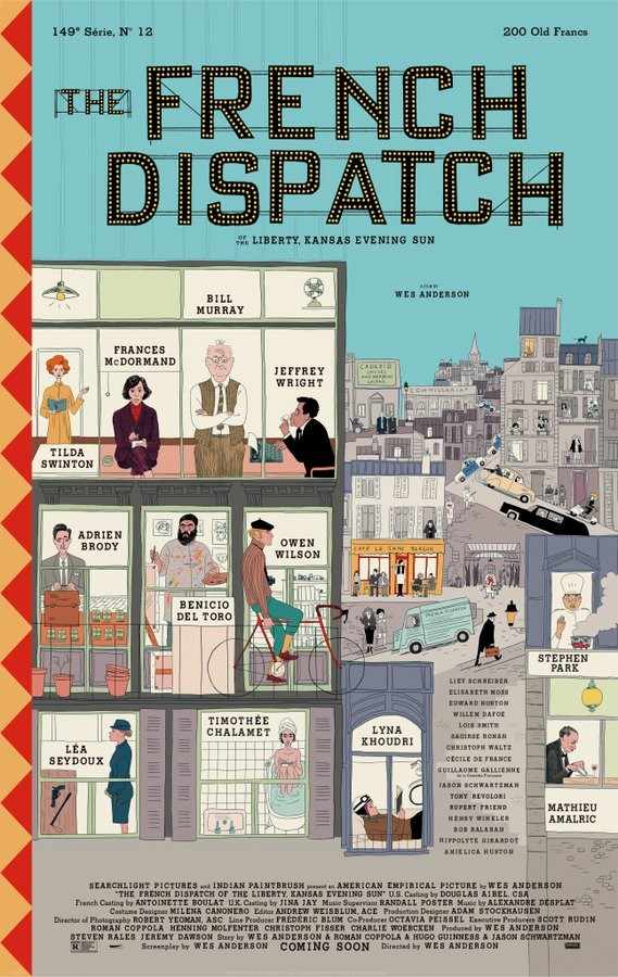 The French Dispatch - Póster
