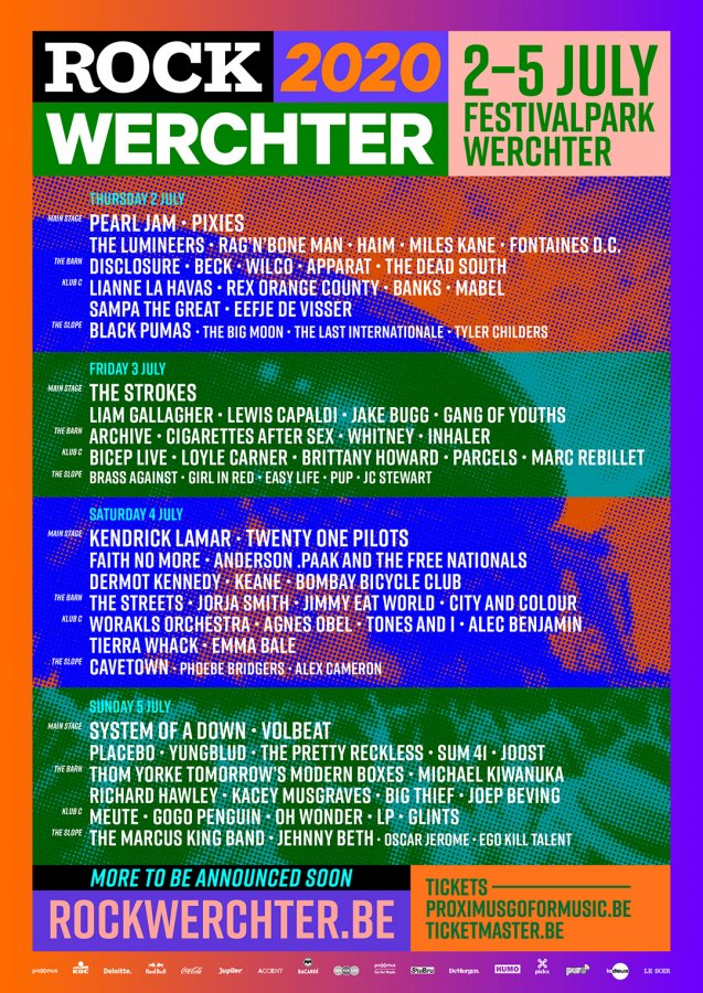 Cartel Rock Werchter 2020