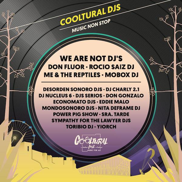 DJs de Cooltural Fest 2020