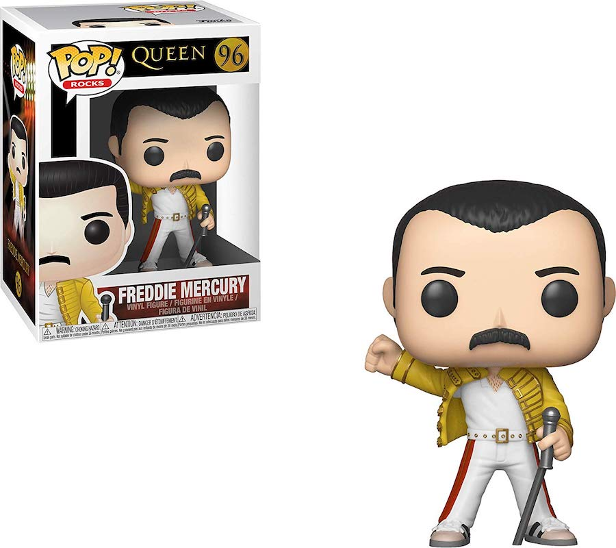 Funko Pop de Freddie Mercury - Wembley 1986