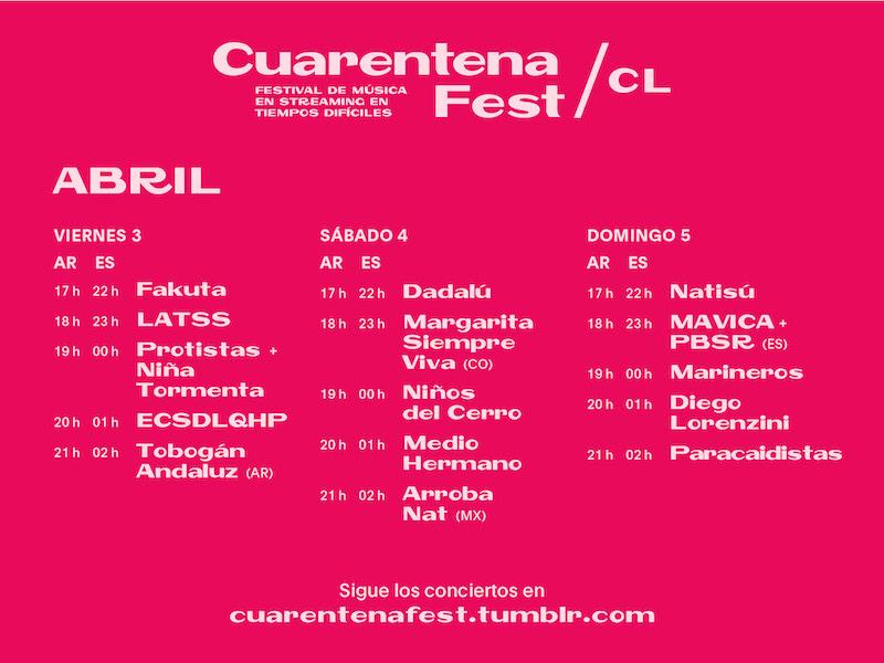 Cuarentena Fest Chile
