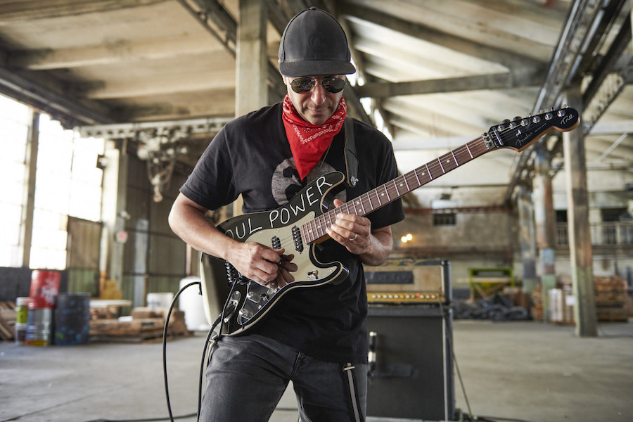 Guitarra Fender Tom Morello 'Soul Power' Stratocaster