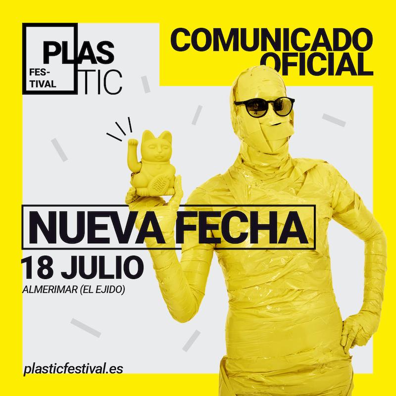 Plastic Festival 2020 - Nuevas fechas