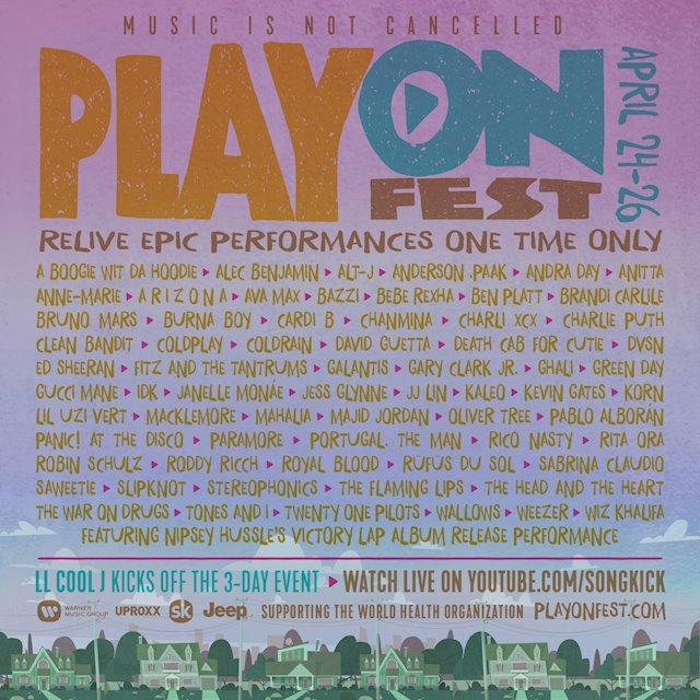 PlayOn Fest en streaming