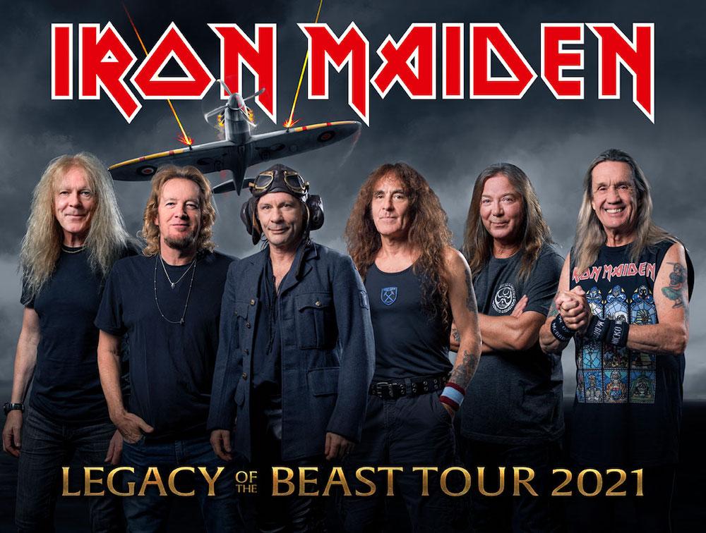 Concierto de Iron Maiden en Barcelona 2021