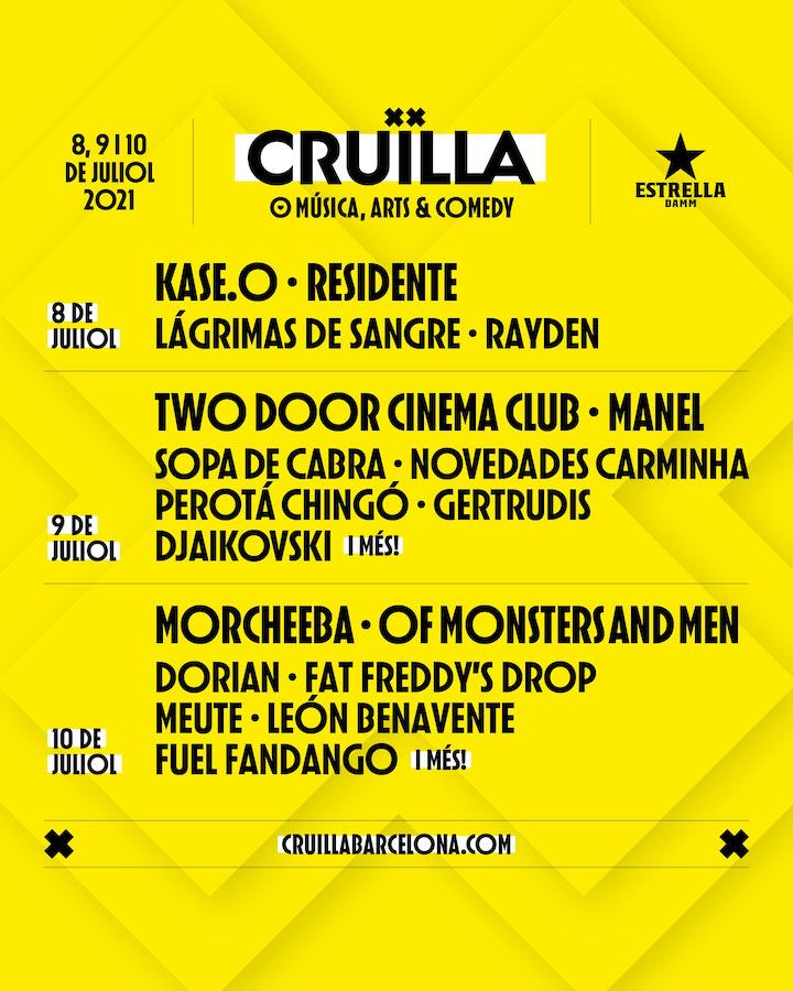 Cruïlla Barcelona 2021