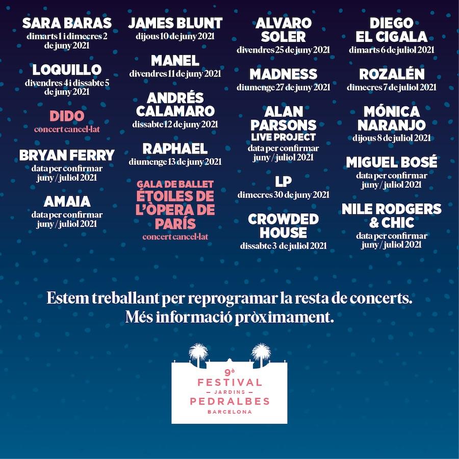 Festival Jardins Pedralbes 2021