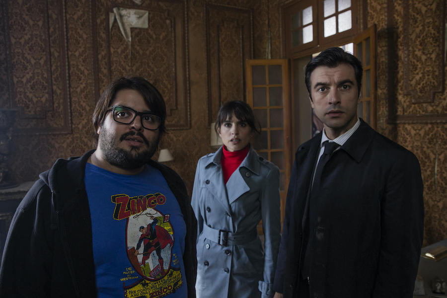 Orígenes secretos - Serie de Netflix