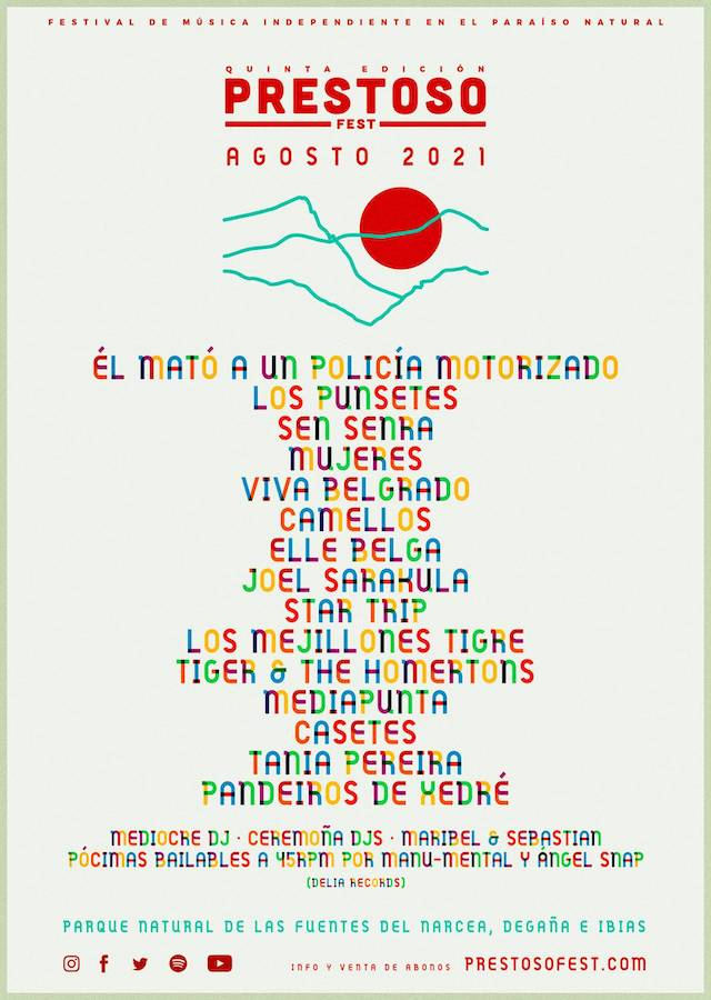 Cartel Prestoso Fest 2021