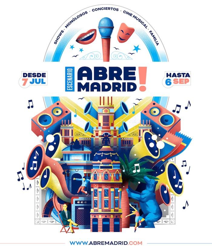 Abre Madrid - Conciertos en IFEMA