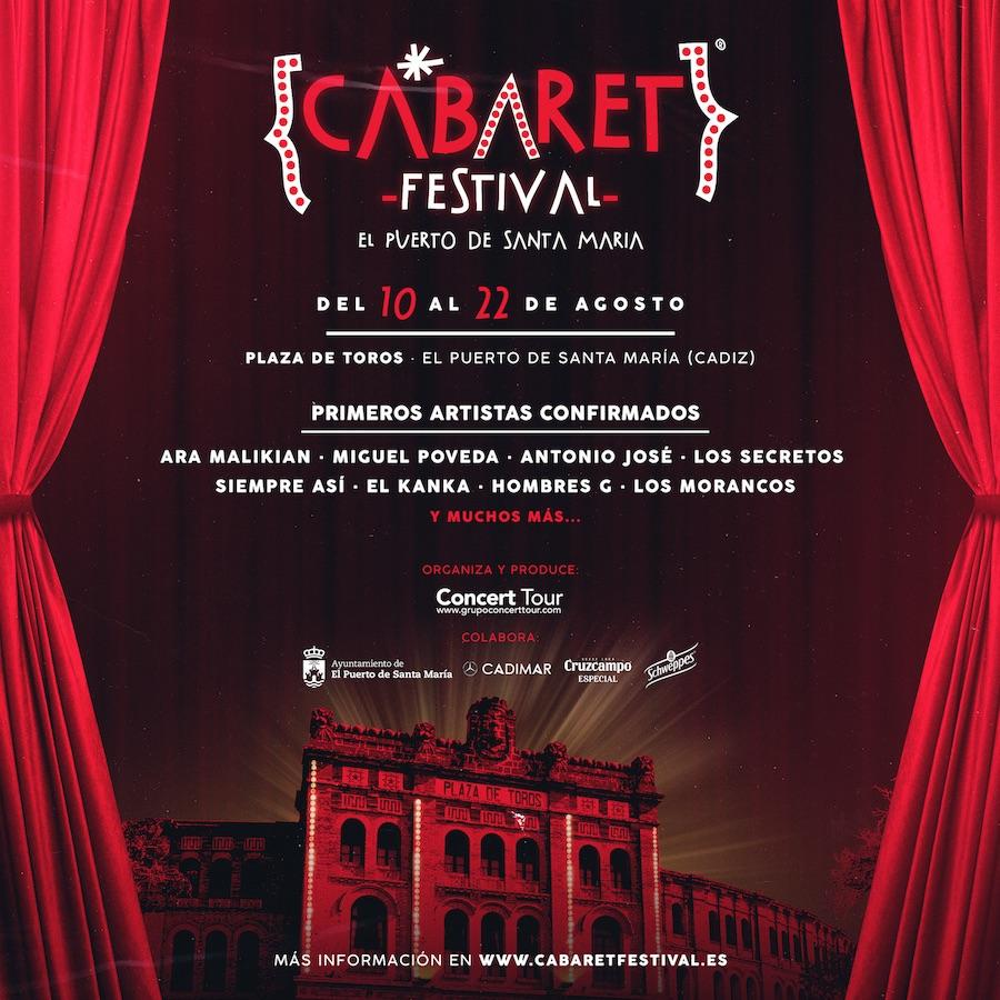 Cabaret Festival - Conciertos Cádiz