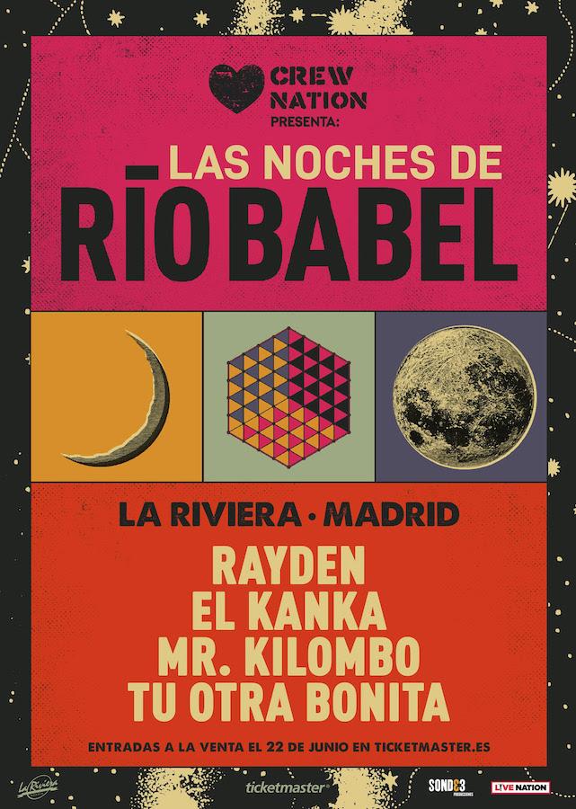 Conciertos - Las Noches de Río Babel en Madrid