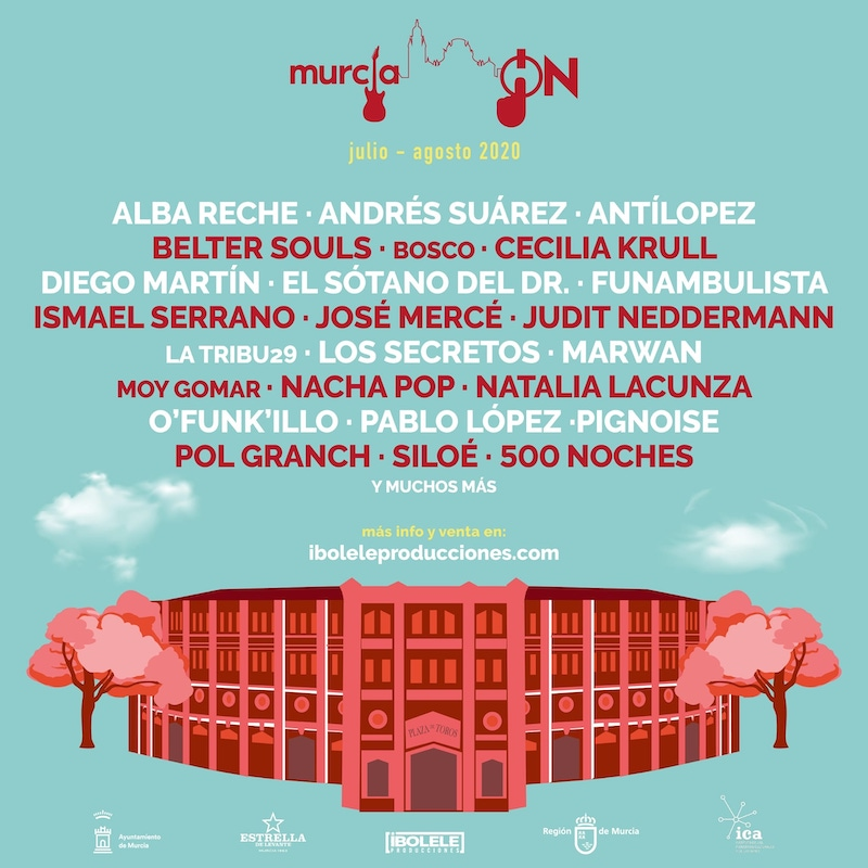 Murcia ON 2020: programa de conciertos