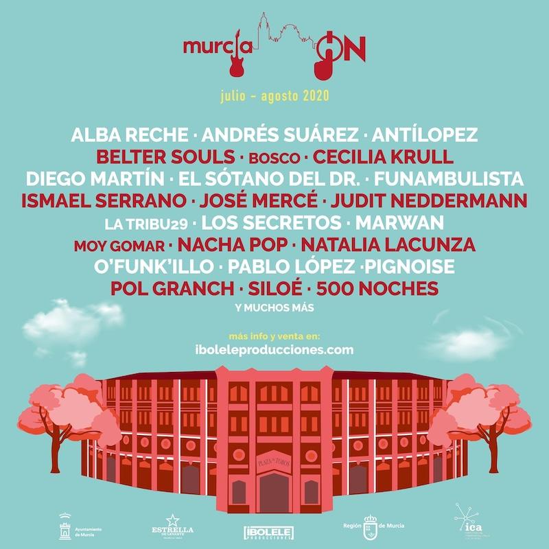 Murcia ON 2020: programa de conciertos