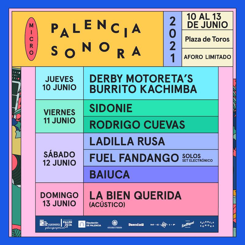 Cartel Palencia Sonora 2021